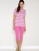 BEEDEES Candy 179 Capri-Pyjama mit Leggings