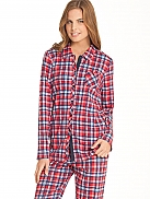 CALIDA Family Time Pyjama, durchgeknöpft