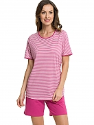 CALIDA Petunia Stripe Short Pyjama