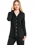 CHERIE LINE Women Jerseypyjama mit Modal