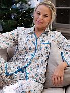 CYBERJAMMIES Natalie Pyjama mit Eulenmotiven