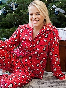 CYBERJAMMIES Novelty Pyjama mit Pinguin-Print