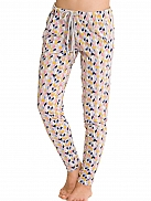 CYELL Let's Stay Home Loungehose mit grafischem Print