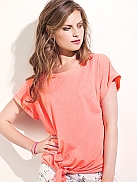 CYELL Night T-Shirt, geknotet