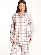 CALIDA Colour Blush Schlafanzug durchgeknöpft