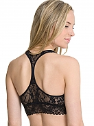 DKNY Signature Lace Spitzen-Bustier, gepadded