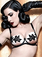 DITA VON TEESE Park Avenue Push-up BH