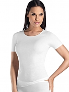 HANRO Cotton Seamless Kurzarm-Shirt