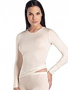HANRO Woolen Silk Shirt langarm, Rundhals