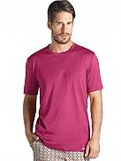 HANRO Amalfi T-Shirt mit Runshalsausschnitt