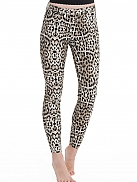 HUE Original Denim- Leopard Printed Jeans Leggings