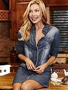 JOCKEY Colorado Highlands Jeans-Nachthemd aus weicher Viskose