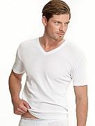 JOCKEY Modern Classic Shirt, V-Neck im Doppelpack