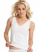 MEY Dry Cotton Woman Top ohne Arm