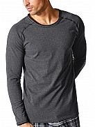 MEY Mey Lounge Basics Shirt langarm