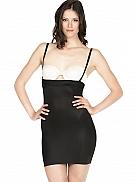 MAGIC BODYFASHION Hi Waist Dress Shapingkleid mit BH Ausschnitt, leichte Qualität