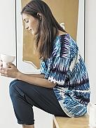 NANSO Shimmer Pyjama mit Fledermausarm