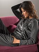 NINA VON C. Descrete Glam Lounge-Anzug