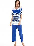 NANSO Buoy Pyjama mit 7/8 Hose gepunktet