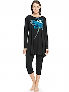 NANSO The Evening Shadows Pyjama mit Oversize-Shirt