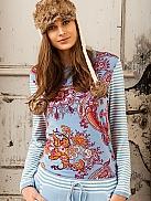 RINGELLA B.l.o.o.my Shirt mit Paisleyprint