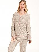 RINGELLA Lingerie Pyjama mit schmalen Bündchen