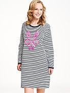 RINGELLA Women Ringel-Nachthemd, Rabbit