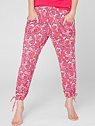 S.OLIVER Night Paisleyhose Capri