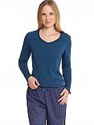 SCHIESSER Night Pyjama mit Webhose