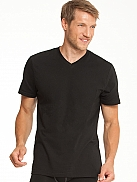 SLOGGI Cotton T T-Shirt mit V-Ausschnitt