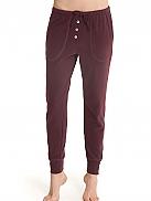 SUNDAY IN BED  Lounge-Hose mit Knopfleiste und Taschen