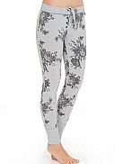 SHORT STORIES Shades of Grey Leggings mit Blumenprint