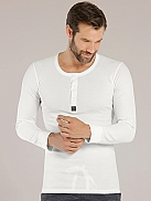 SKINY Loungewear Collection Shirt mit Knopfleiste