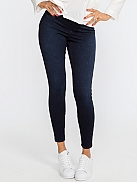 SPANX Jean-Ish Leggings Shaping-Leggings in Jeans-Optik