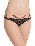 STELLA MCCARTNEY Millie Drawing Bikini-Slip aus Spitze
