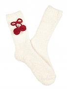 TAUBERT Santa & Snowball Socks Kuschelsocken mit Bommel