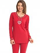 TAUBERT X-Mas Pyjama mit Leggings