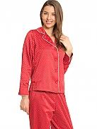 TAUBERT X-Mas Satin-Pyjama