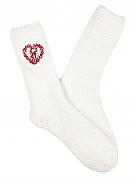 TAUBERT X-Mas Socks Kuschelsocken mit Herz-Strickerei