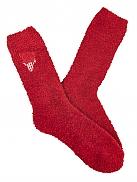 TAUBERT X-Mas Socks Kuschelsocken mit Vichy Hirsch-Stickerei