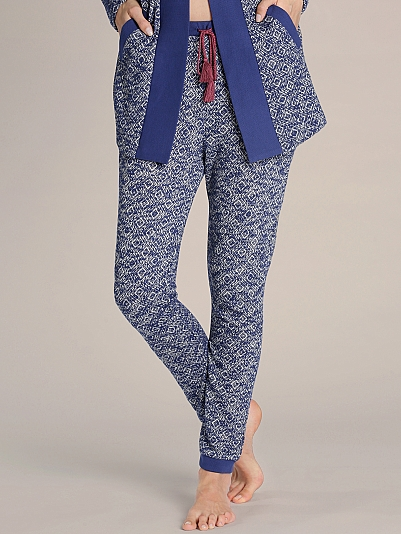 BEEDEES Cosy Label Bündchen-Pants in Strick-Jacquard