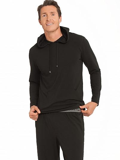 calvin klein cotton modal jogging anzug mit kapuzenpulli. Black Bedroom Furniture Sets. Home Design Ideas