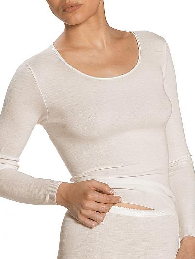 mey exquisite shirt langarm mit seide wei online shop. Black Bedroom Furniture Sets. Home Design Ideas