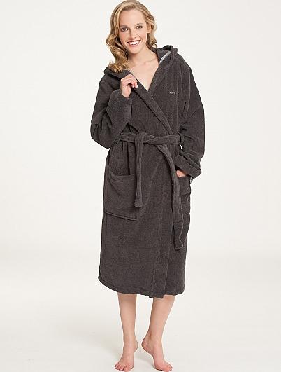 marc o 39 polo classic bathrobe bademantel mit kapuze l nge. Black Bedroom Furniture Sets. Home Design Ideas