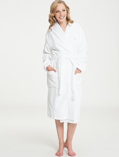 marc o 39 polo classic bathrobe bademantel kimono l nge 120cm. Black Bedroom Furniture Sets. Home Design Ideas