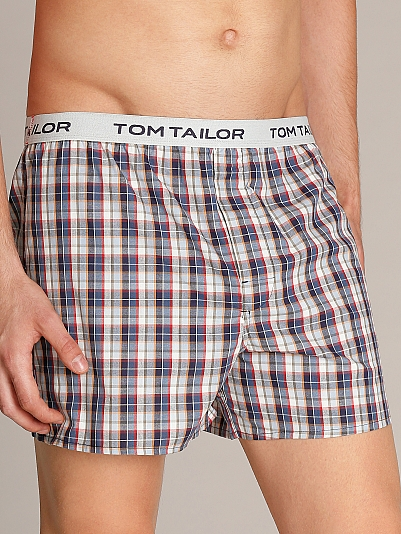 tom tailor american pioneer boxershorts blau. Black Bedroom Furniture Sets. Home Design Ideas