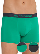 BRUNO BANANI 2 Pack Flowing Doppelpack Shorts